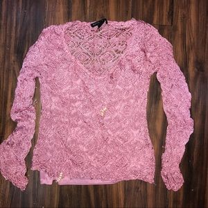 Pink Nordstrom Sweater